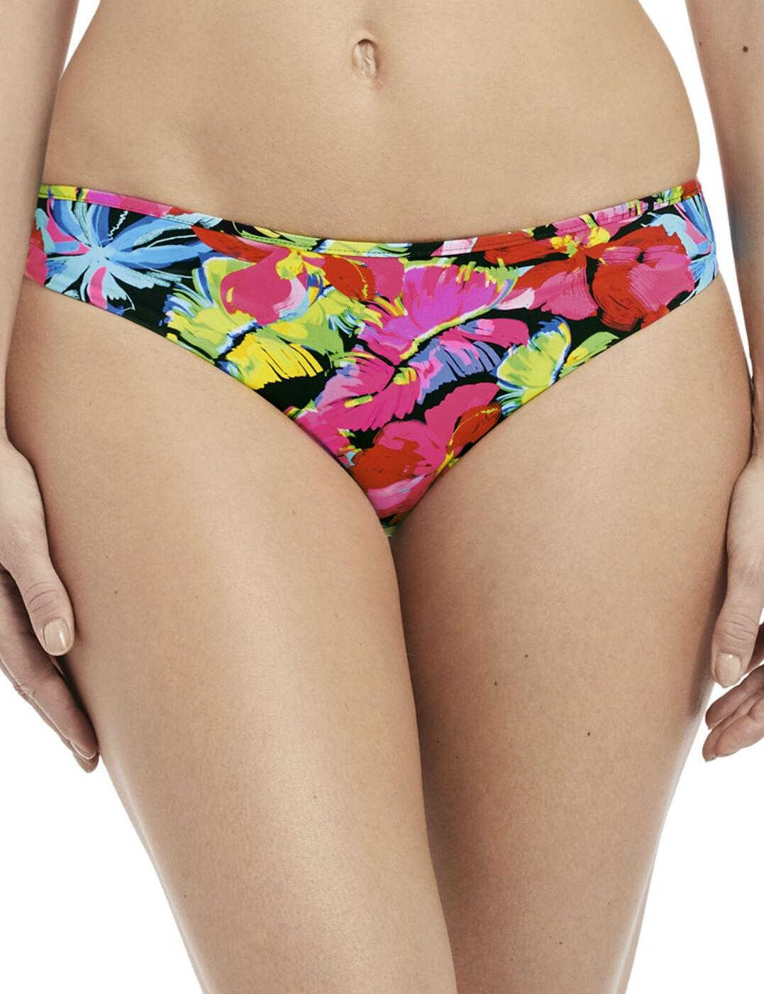 6469 Fanatsie Santa Barbara Low Rise Reversible Bikini Brief  - 6469 Multi