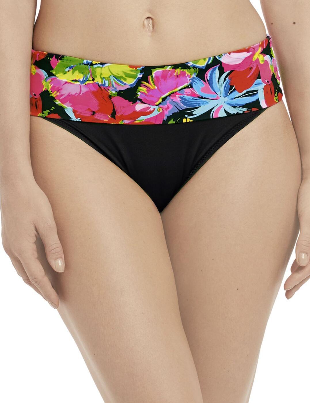 6471 Fantasie Santa Barbara Classic Fold Bikini Brief - 3471 Multi
