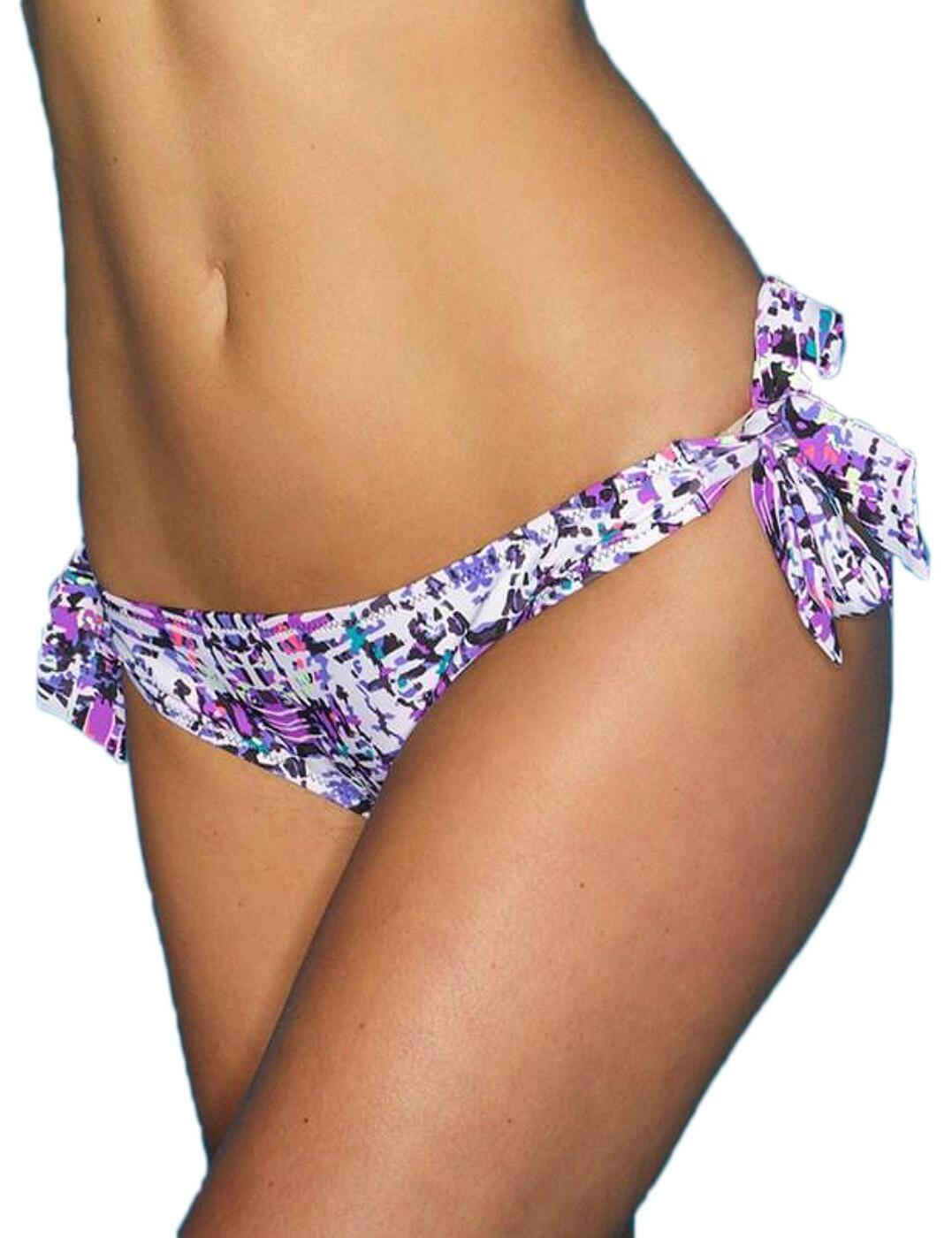92004 Pour Moi? Mykonos Tie Side Bikini Brief - 92004 Multi