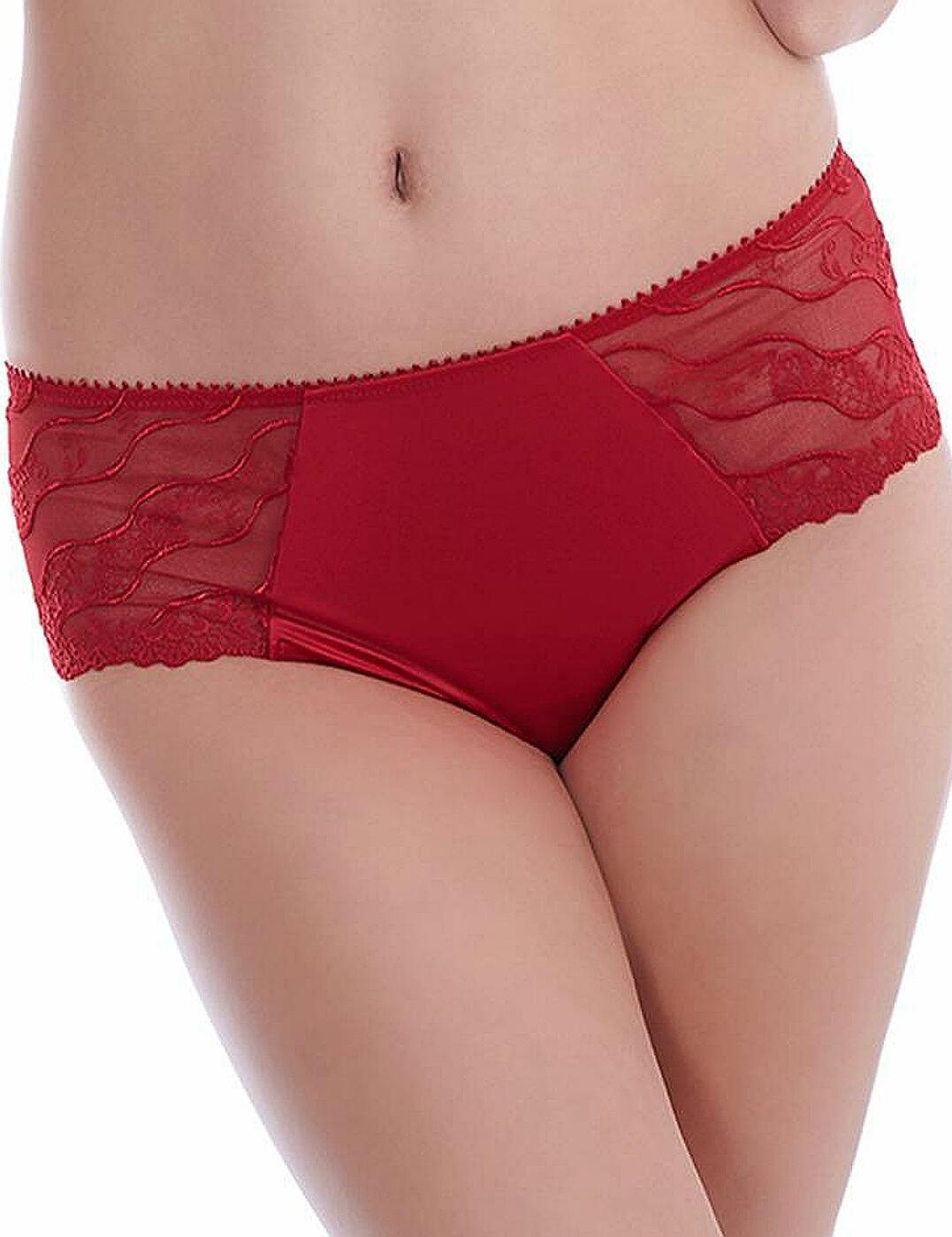 Wacoal Eclat Tanga Thong 117007 Crimson red