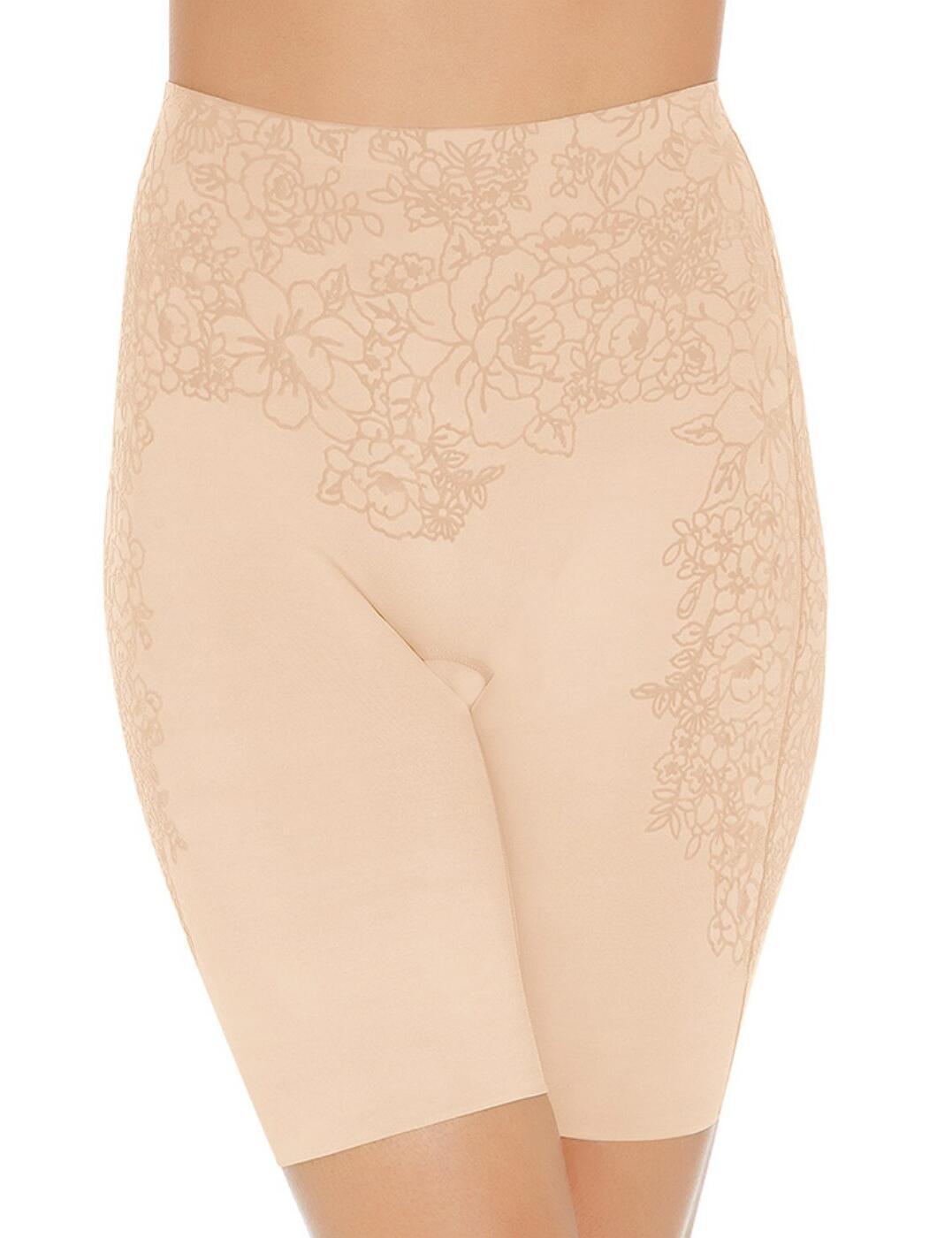 GRA351 Wacoal Flower Power High Waist Long Pant - GRA351 Skin