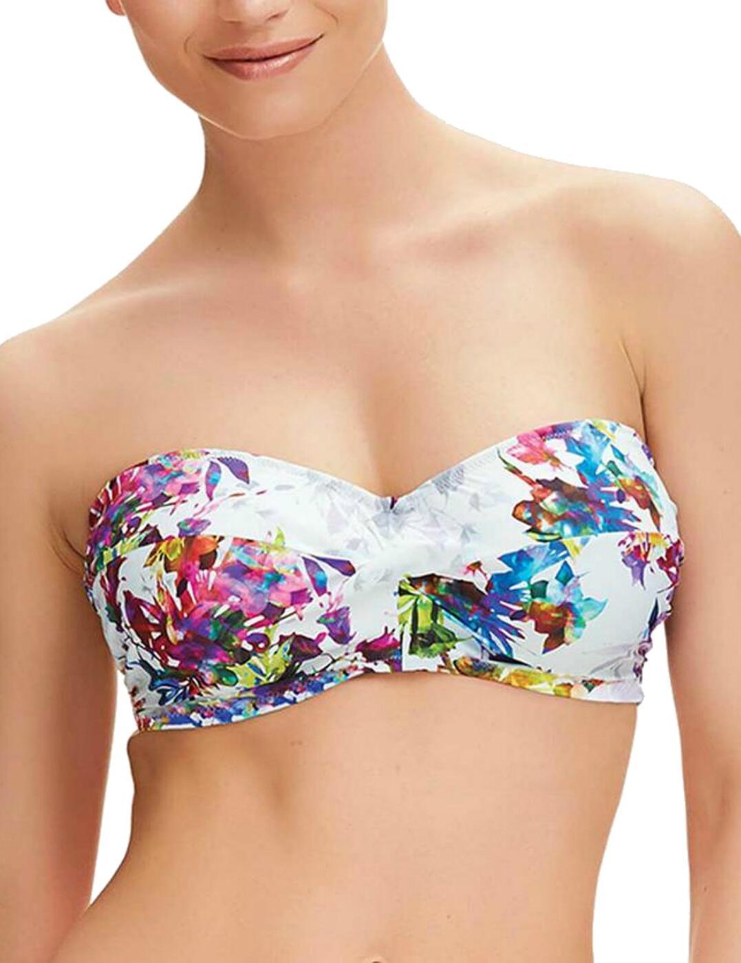 6322 Fantasie Agra Underwired Twist Bandeau Multiway Bikini Top - 6322 Multi