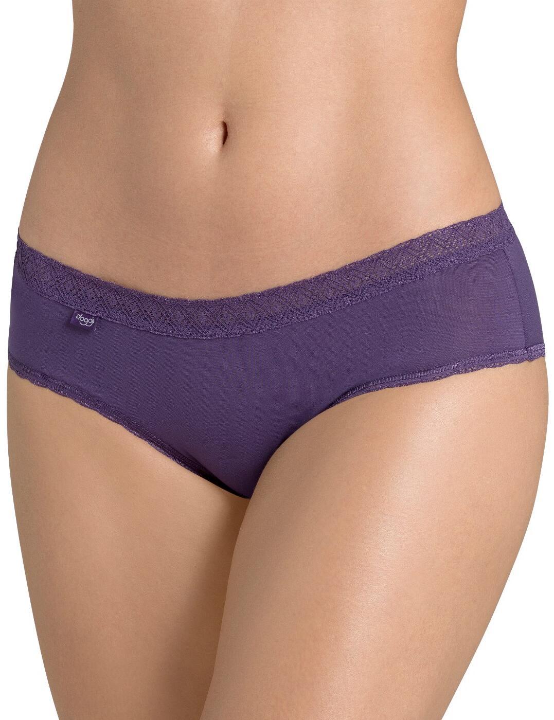 10162961 Sloggi EverNew Lace Hipster - 10162961 Dark Purple