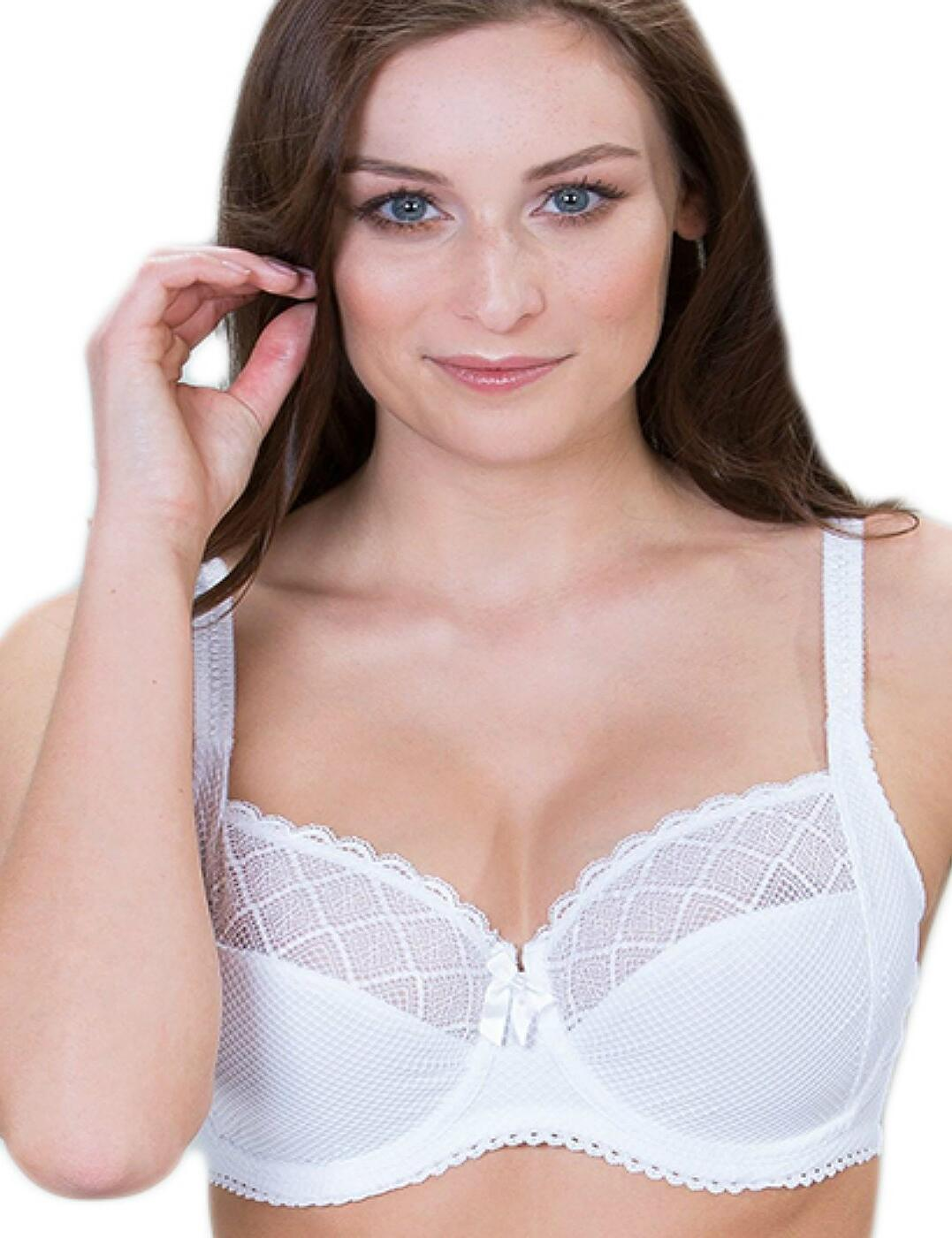 46002 Pour Moi Electra Side Support Bra - 46002 White