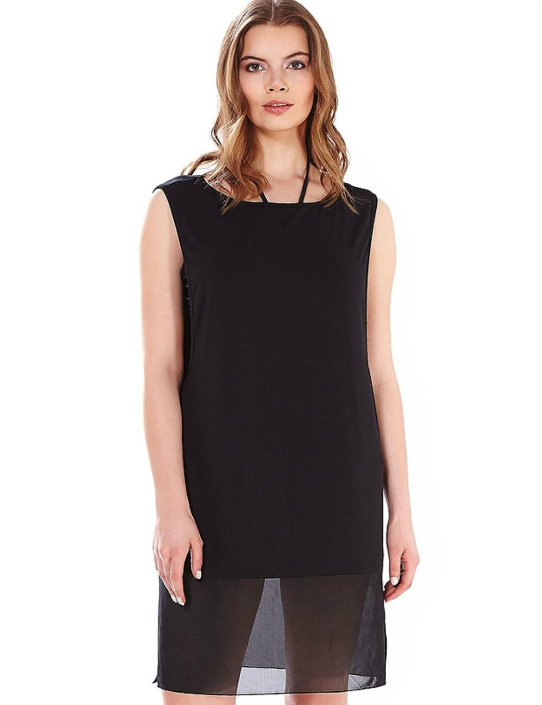 3480 Freya Firestar Jersey Beach Dress - 3480 Black