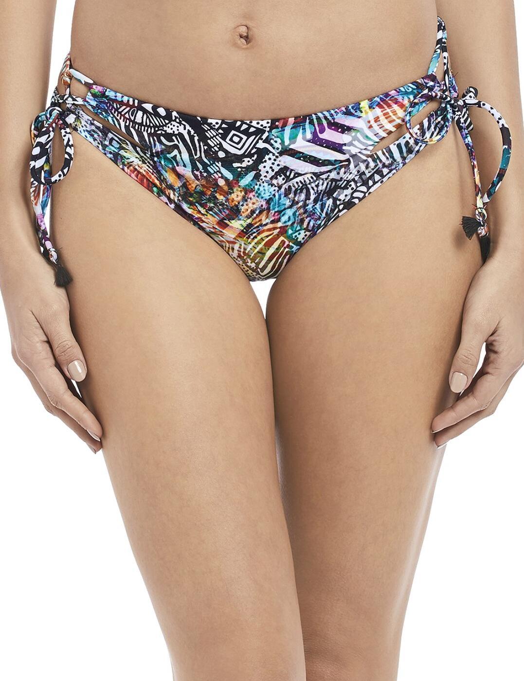 2904 Freya Hot in Havana Multi Rio Tie Side Bikini Brief - 2904 Multi