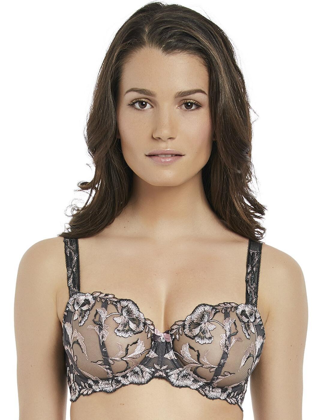9551 Fantasie Angelina Vertical Seam Bra - 9551 Smokey Rose