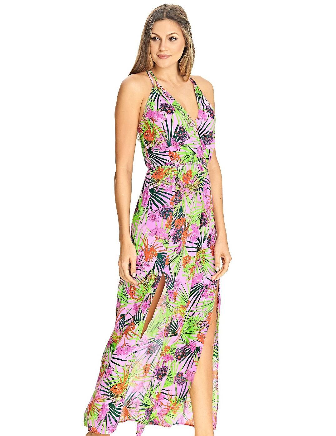 4028 Freya Lost In Paradise Maxi Beach Dress - 4028 Pink