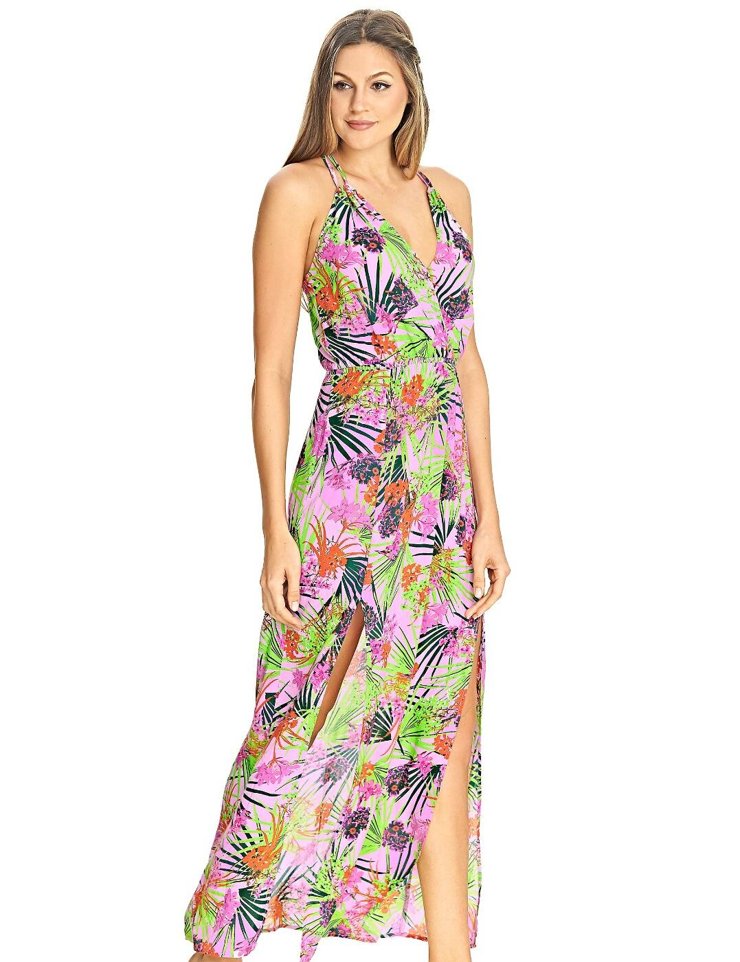 4028 Freya Lost In Paradise Maxi Beach Dress - 4028 Pink