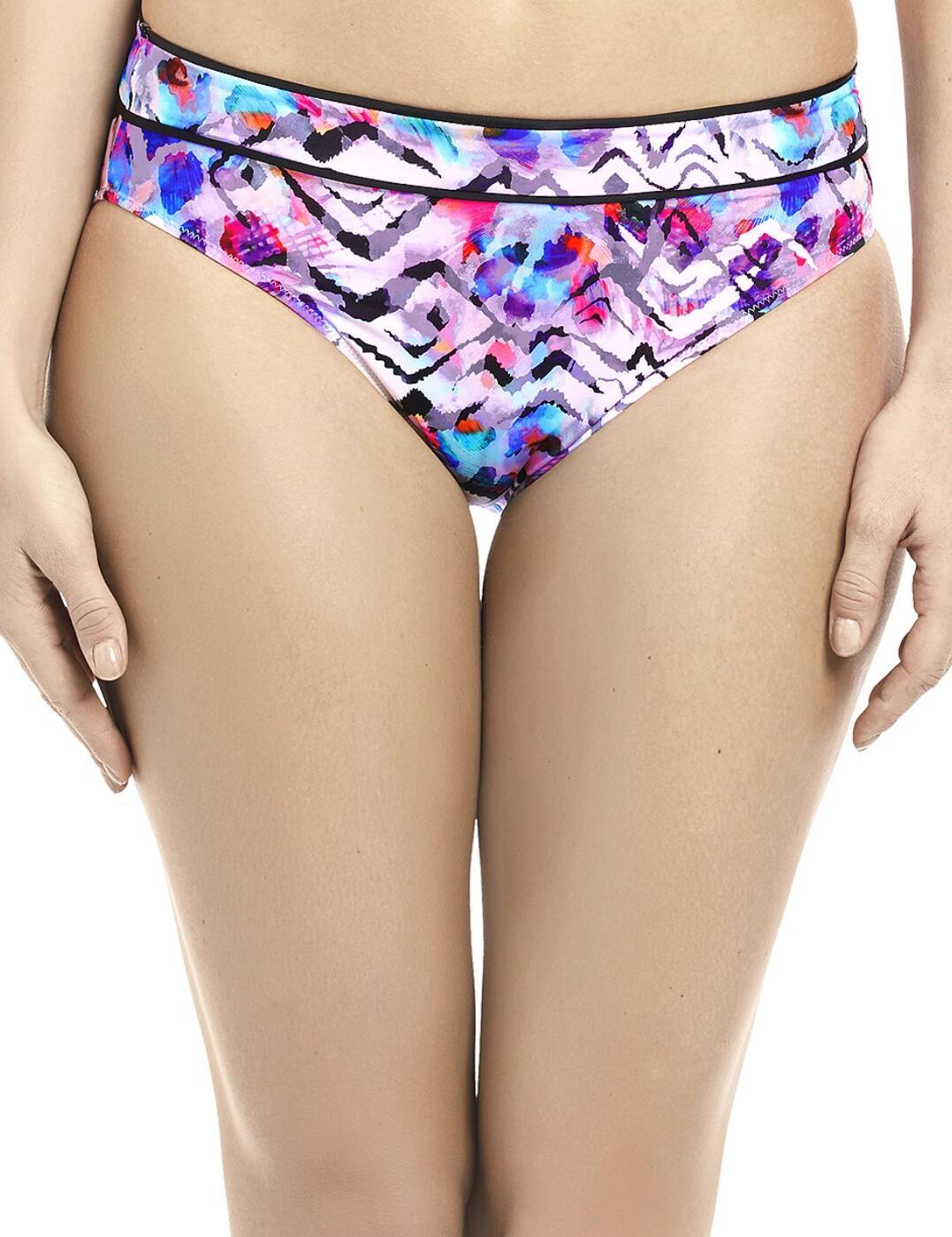 6449 Fantasie Malundi Mid Rise Bikini Brief - 6449 Multi