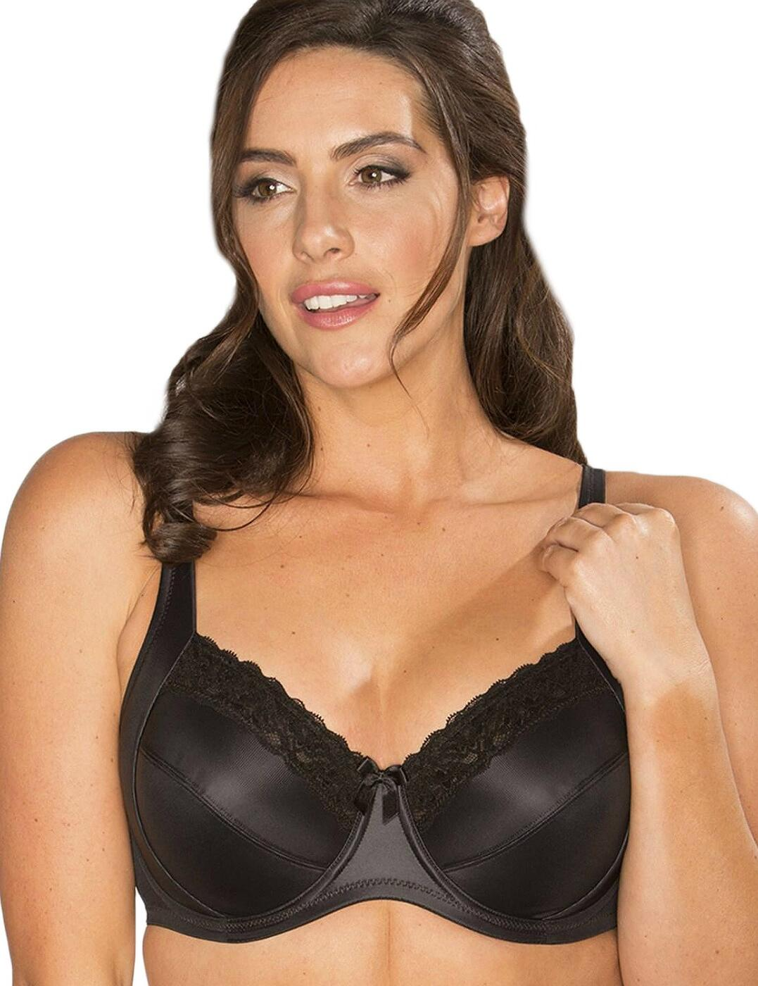 3814 Pour Moi Body Comfort Side Support Bra - 3814 Black