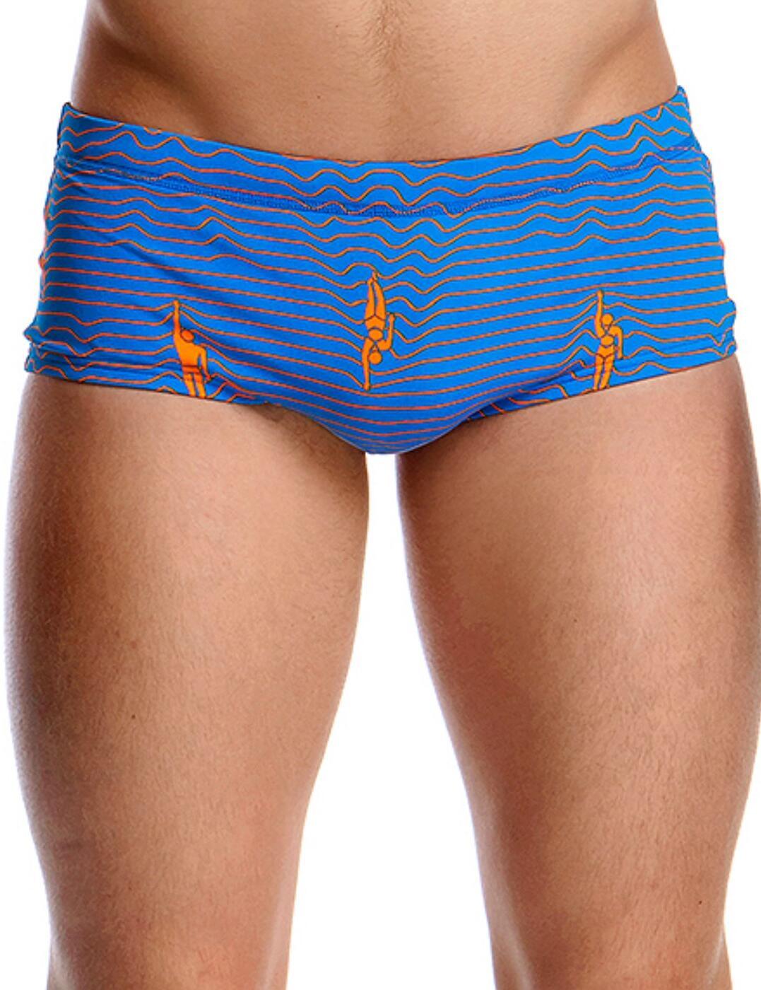 FT01M02000 Funky Trunks Mens Ocean Swim Swimming Trunks - FT01M02000 Ocean Swim
