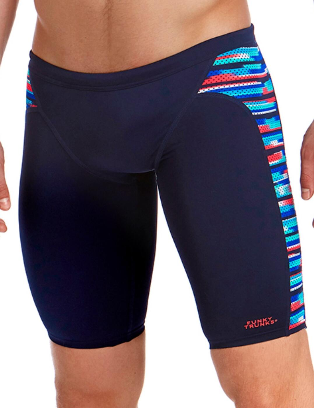 FT37M01971 Funky Trunks Mens Meshed Up Training Jammers - FT37M01971 Meshed Up
