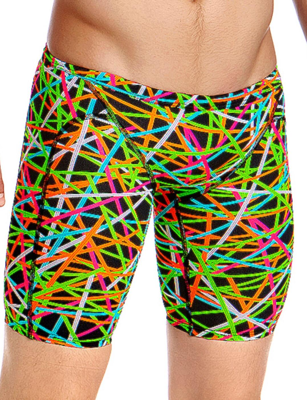 FT37M02005 Funky Trunks Mens Strapped In Training Jammers - FT37M02005 Strapped In