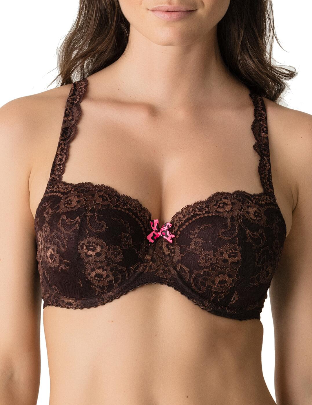 0241422/0241423 Prima Donna Twist Caramba Padded Balcony Bra - 0241422/0241423 Chocolate