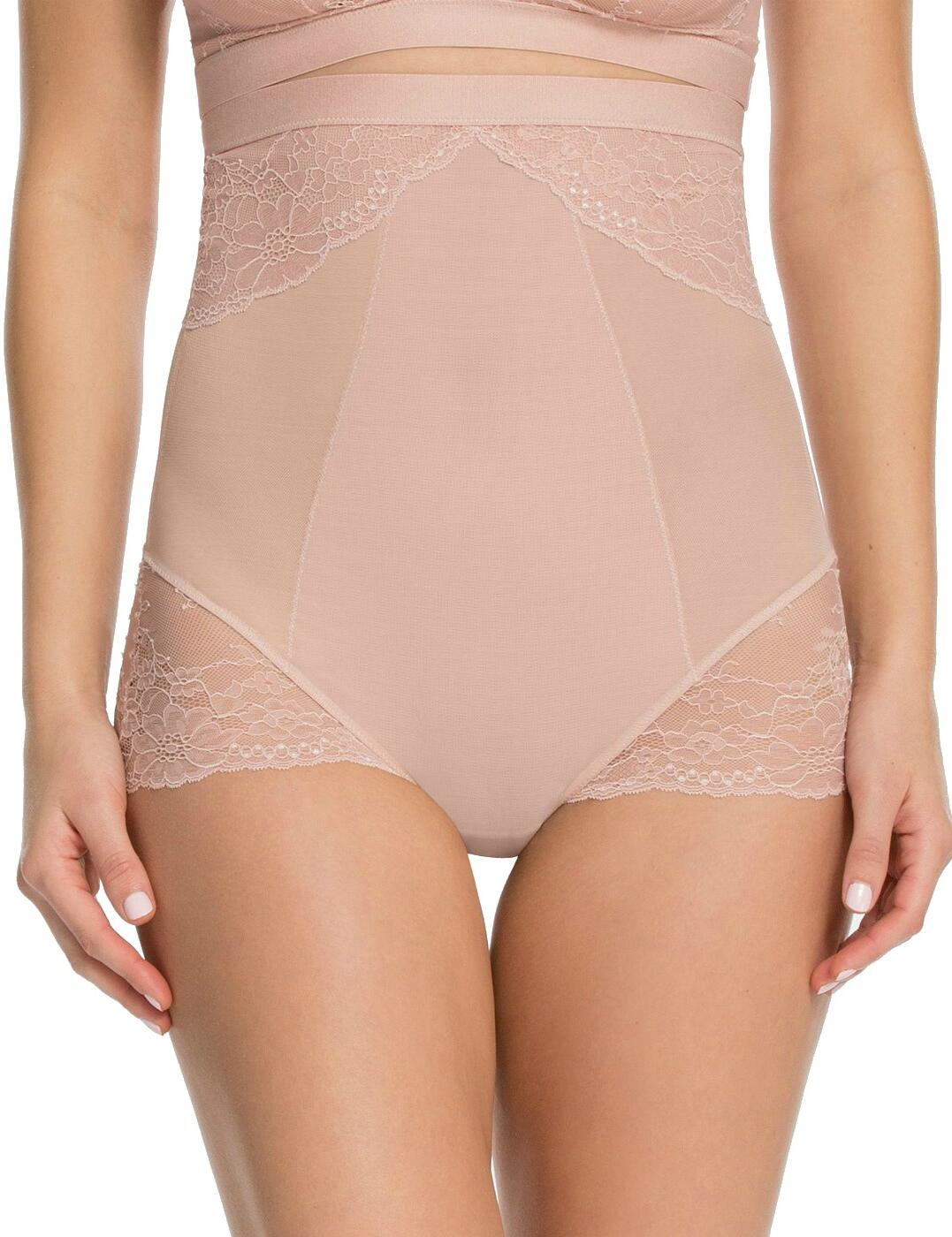 10121R Spanx Spotlight On Lace High Waist Brief - 10121R Vintage Rose