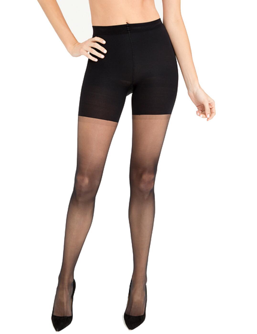 20025R Spanx Sheers Luxe Leg  - 20025R Very Black