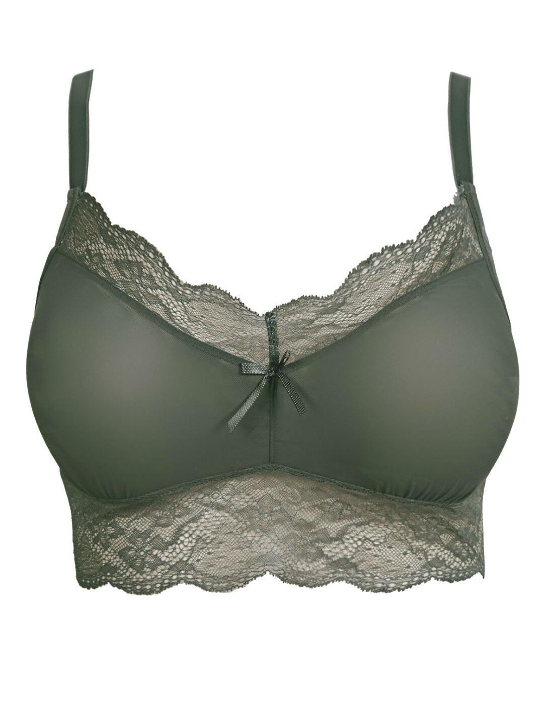 1010 Freya Fancies Bralette Bra Top - 1010 Olive