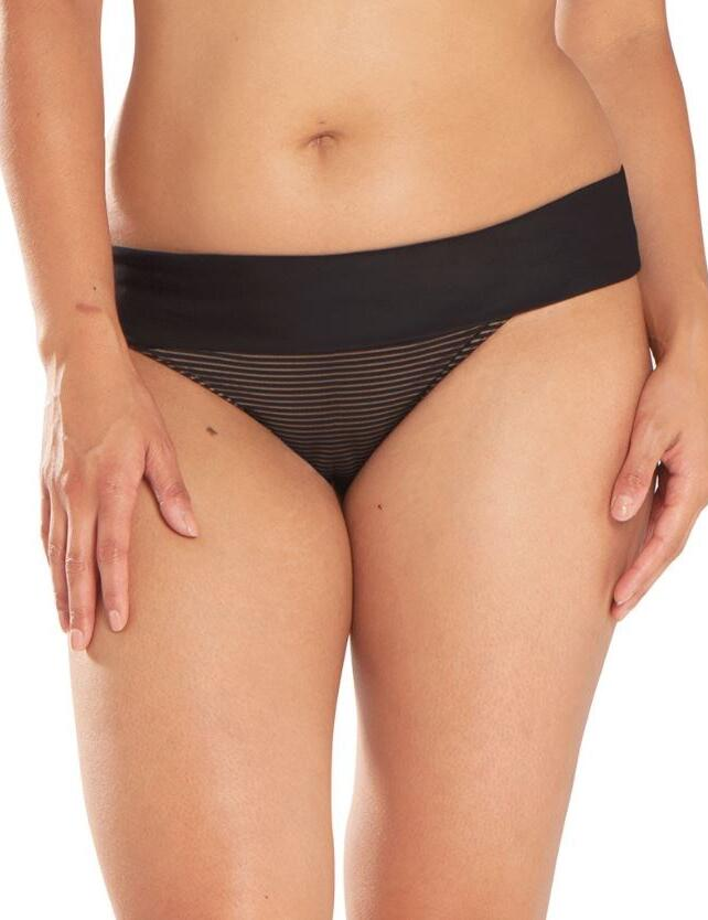 CS5125 Curvy Kate Onyx Fold Over Bikini Brief - CS5125 Fold Bikini Brief