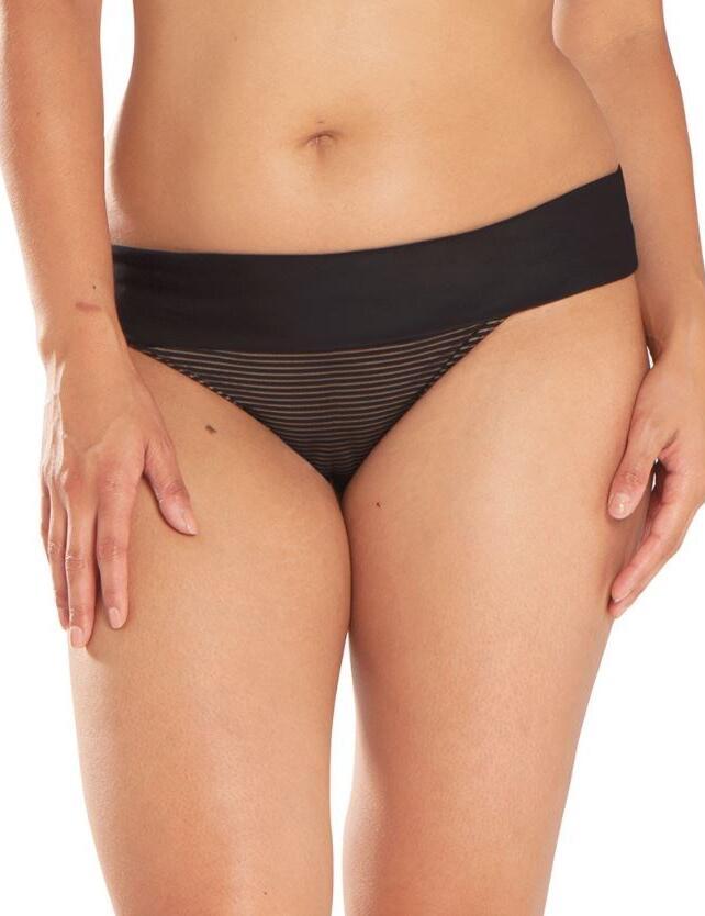 CS5125 Curvy Kate Onyx Fold Over Bikini Brief - CS5125 Black