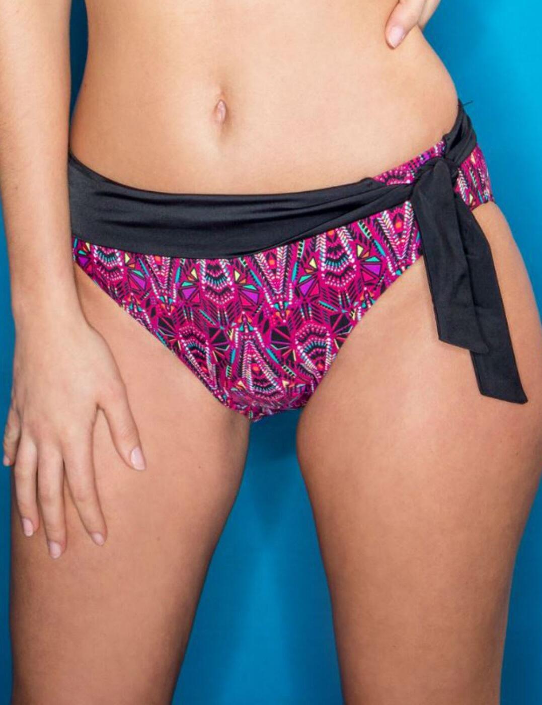 64004 Pour Moi Java Fold Tie Bikini Brief - 64004 Multi