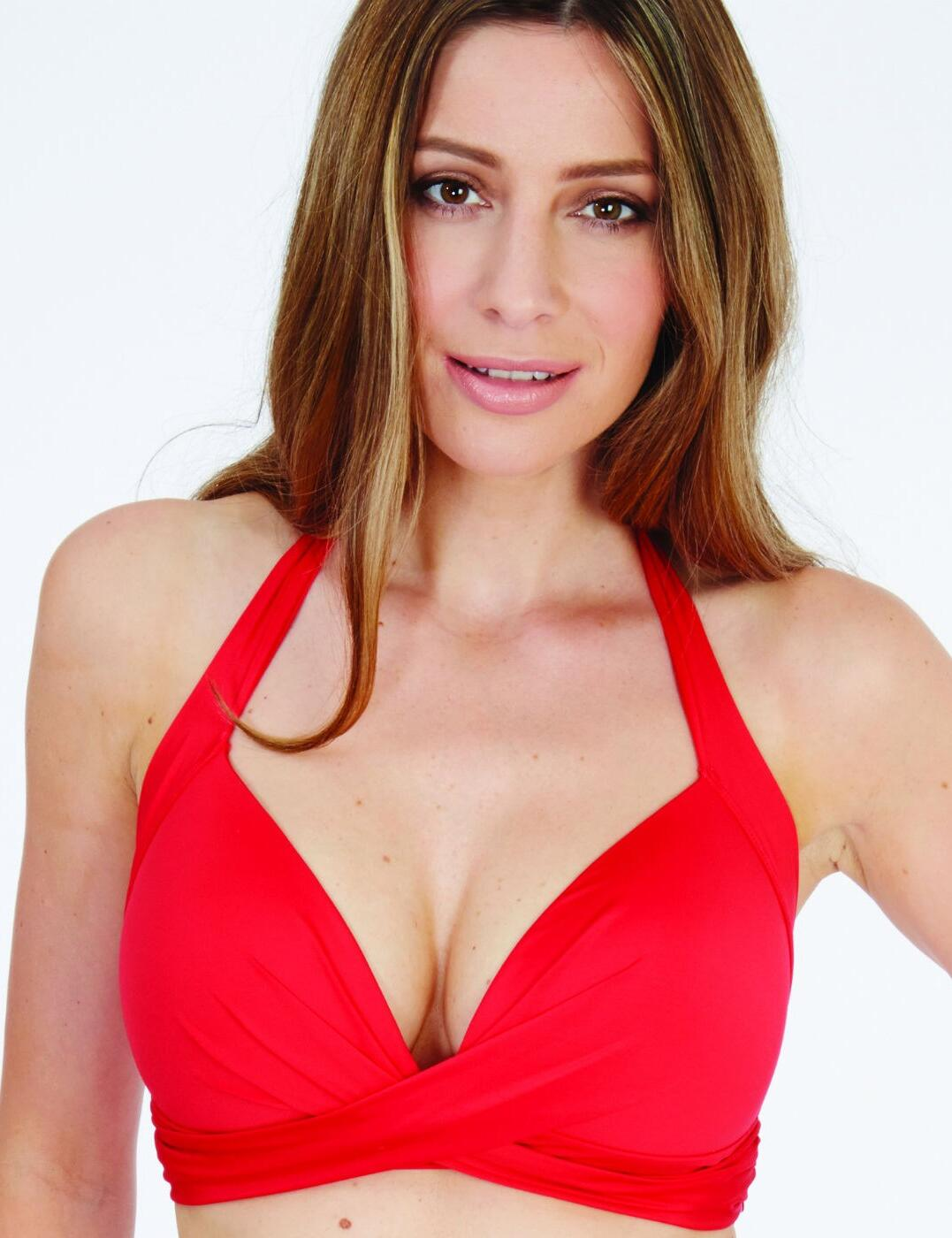 1597680 Lepel Lagoon Triangle Bikini Top - 1597680 Red