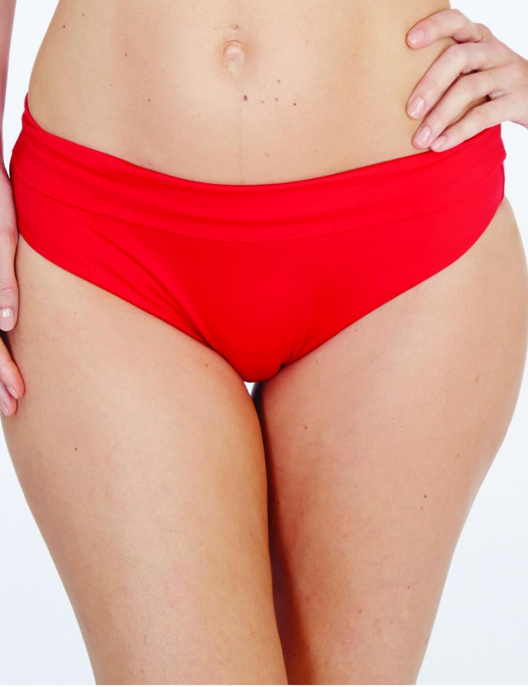 1597790 Lepel Lagoon Fold Top Bikini Pant - 1597790 Red
