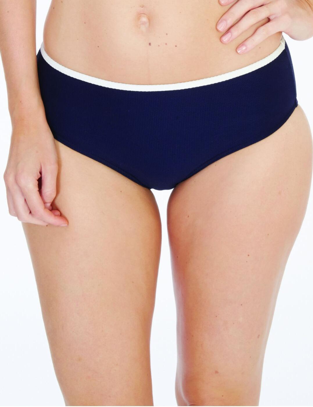 1757700 Lepel Plain Sailing Bikini Pants - 1757700 Navy/Cream