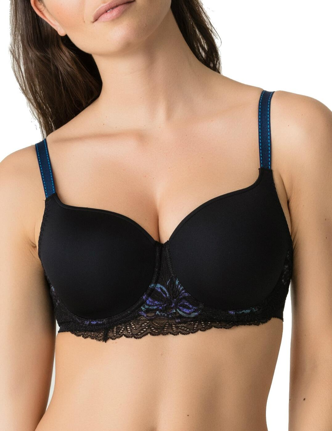 0241670/0241671 Prima Donna Twist French Kiss Bra - 0241670/0241671 Black