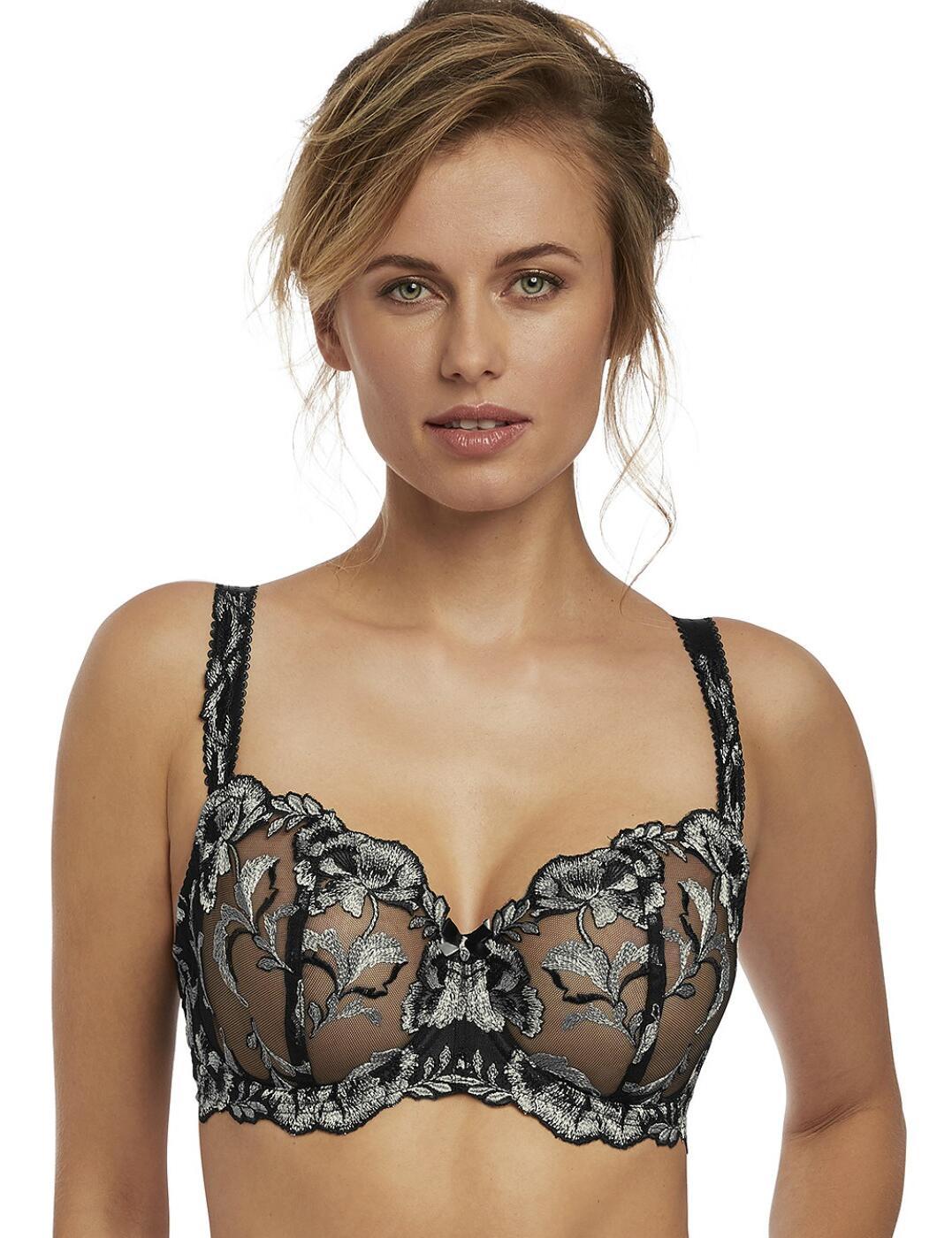 9551 Fantasie Angelina Underwired Vertical Seam Bra - 9551 Platinum