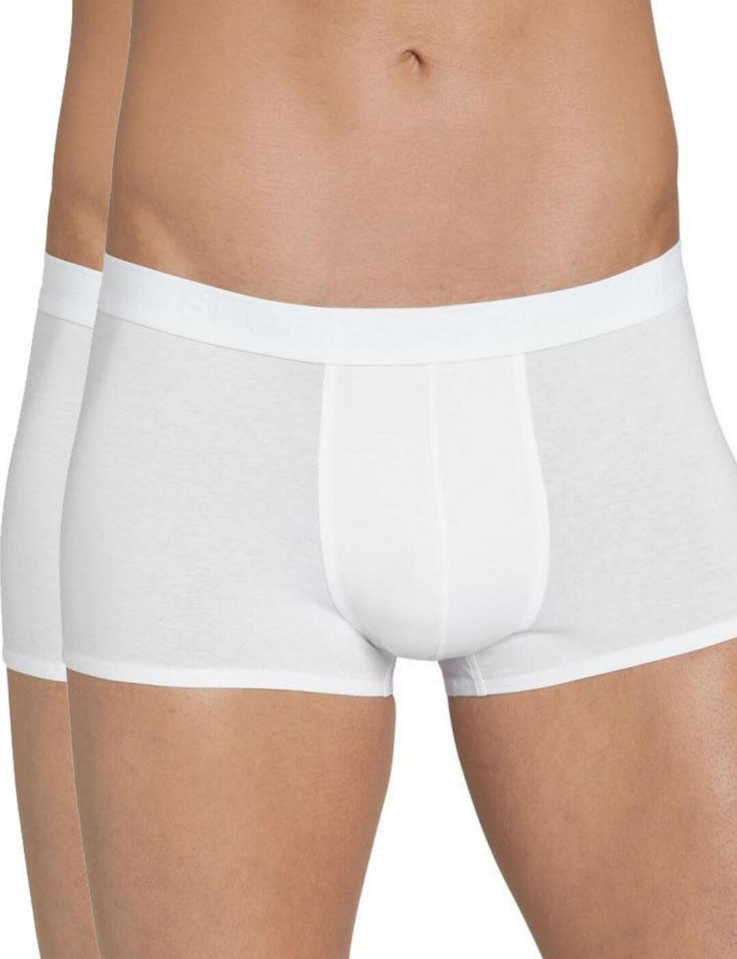 10156829 Sloggi Men EverNew Short (2 Pack) - 10156829 White