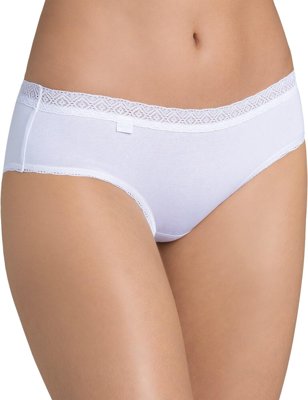 10162961 Sloggi EverNew Lace Hipster - 10162961 White