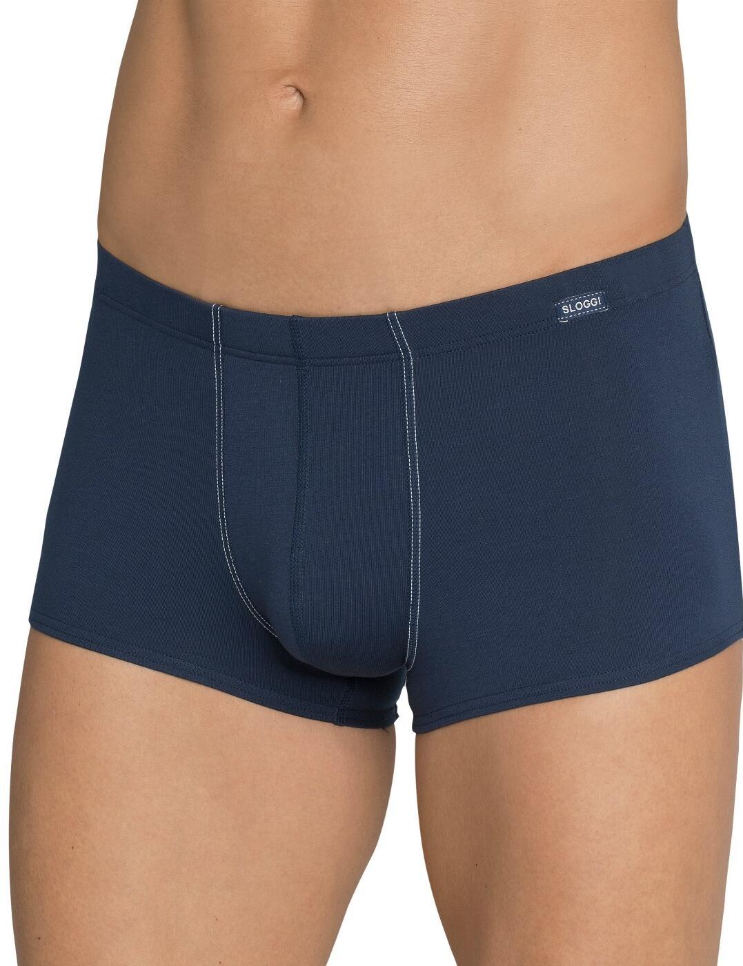 10167208 Sloggi Men Basic Soft Hipster - 10167208 Night Blue