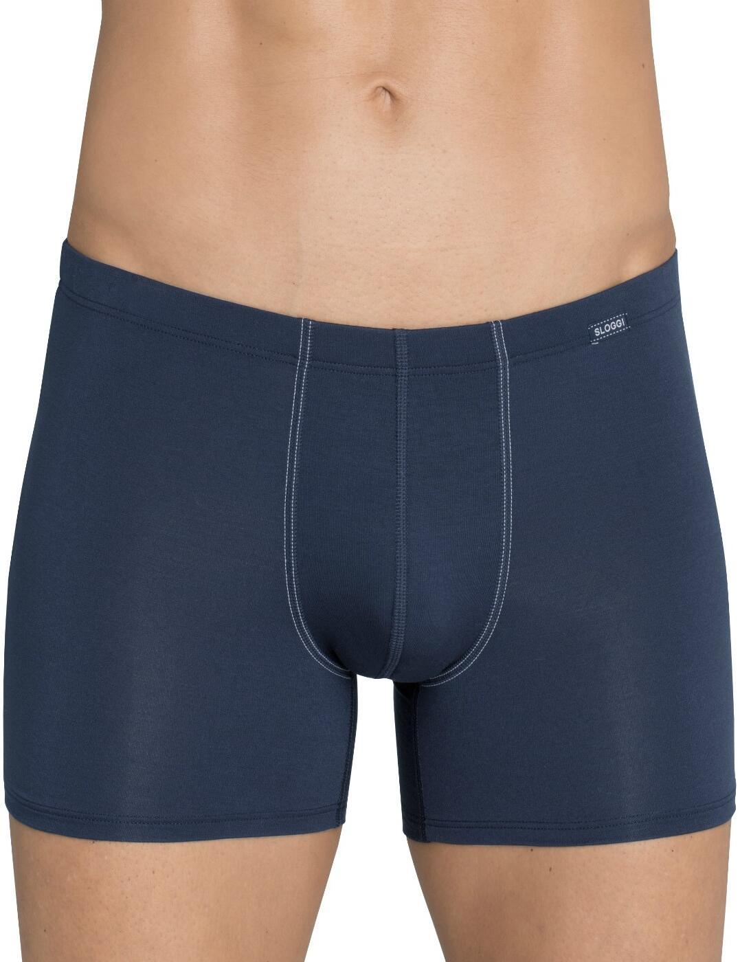 10167209 Sloggi Men Basic Soft Short - 10167209 Blue