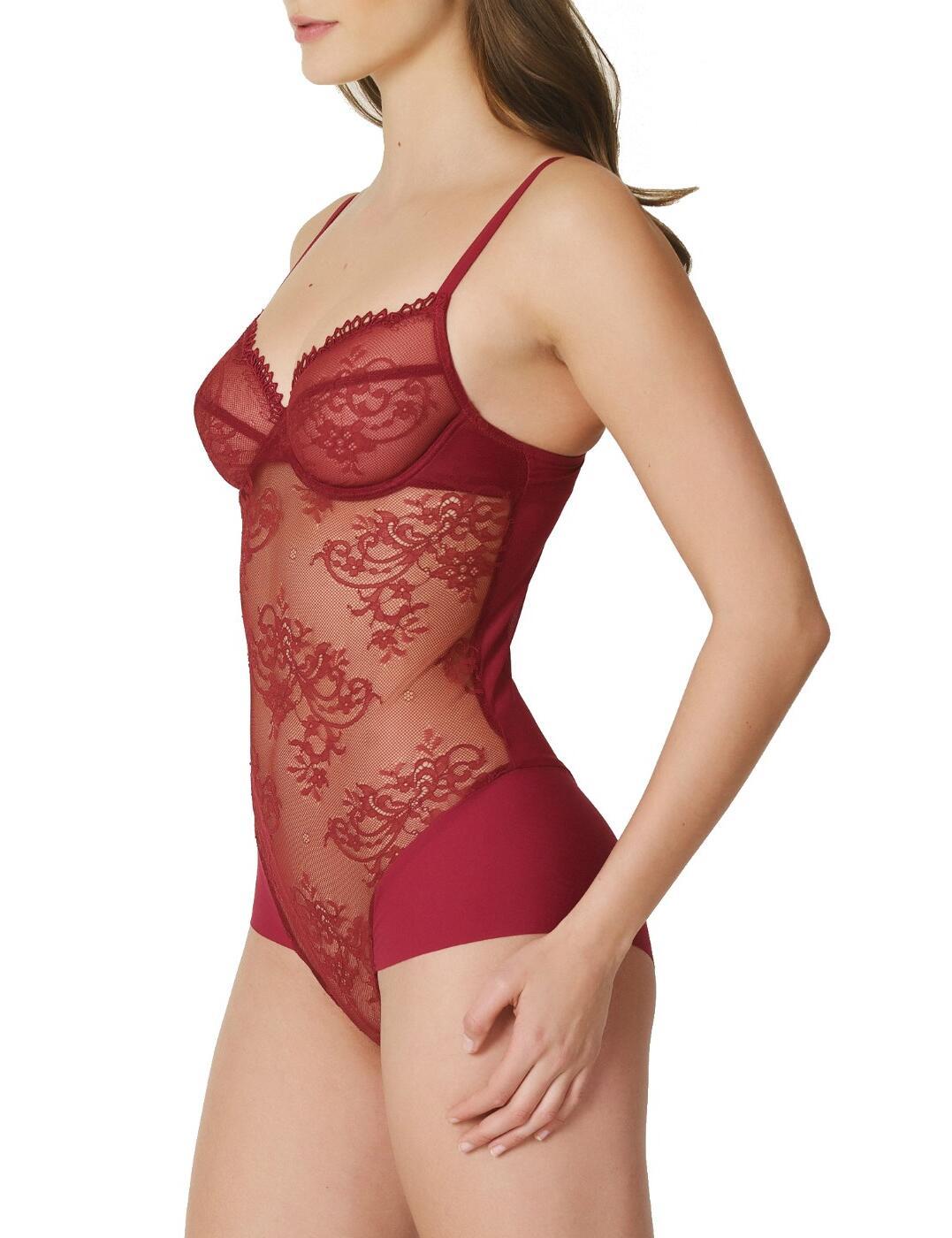 0402220 Marie Jo Agatha Body - 0402220 Rumba Red