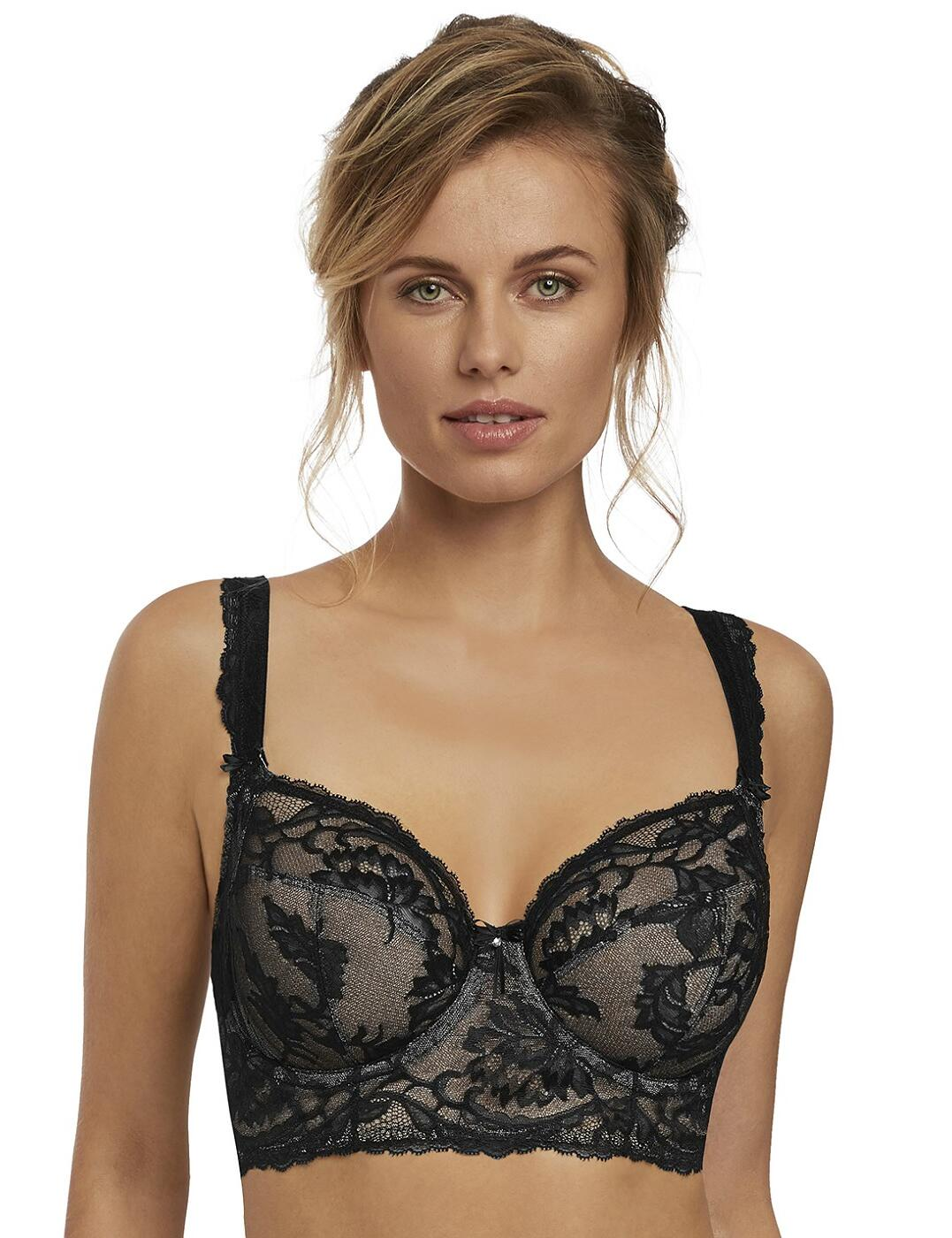 2063 Fantasie Bronte Longline Side Support Bra - 2063 Black