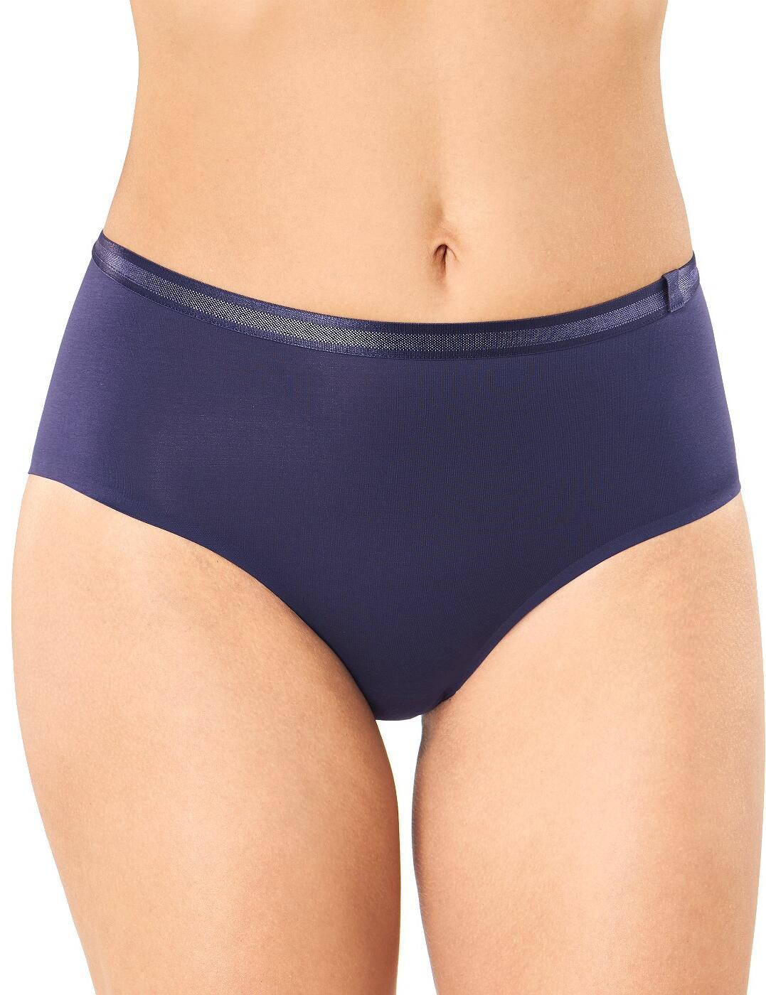 10186105 Sloggi S Serenity Mid Waist Panty Brief - 10186105 Indigo Blue