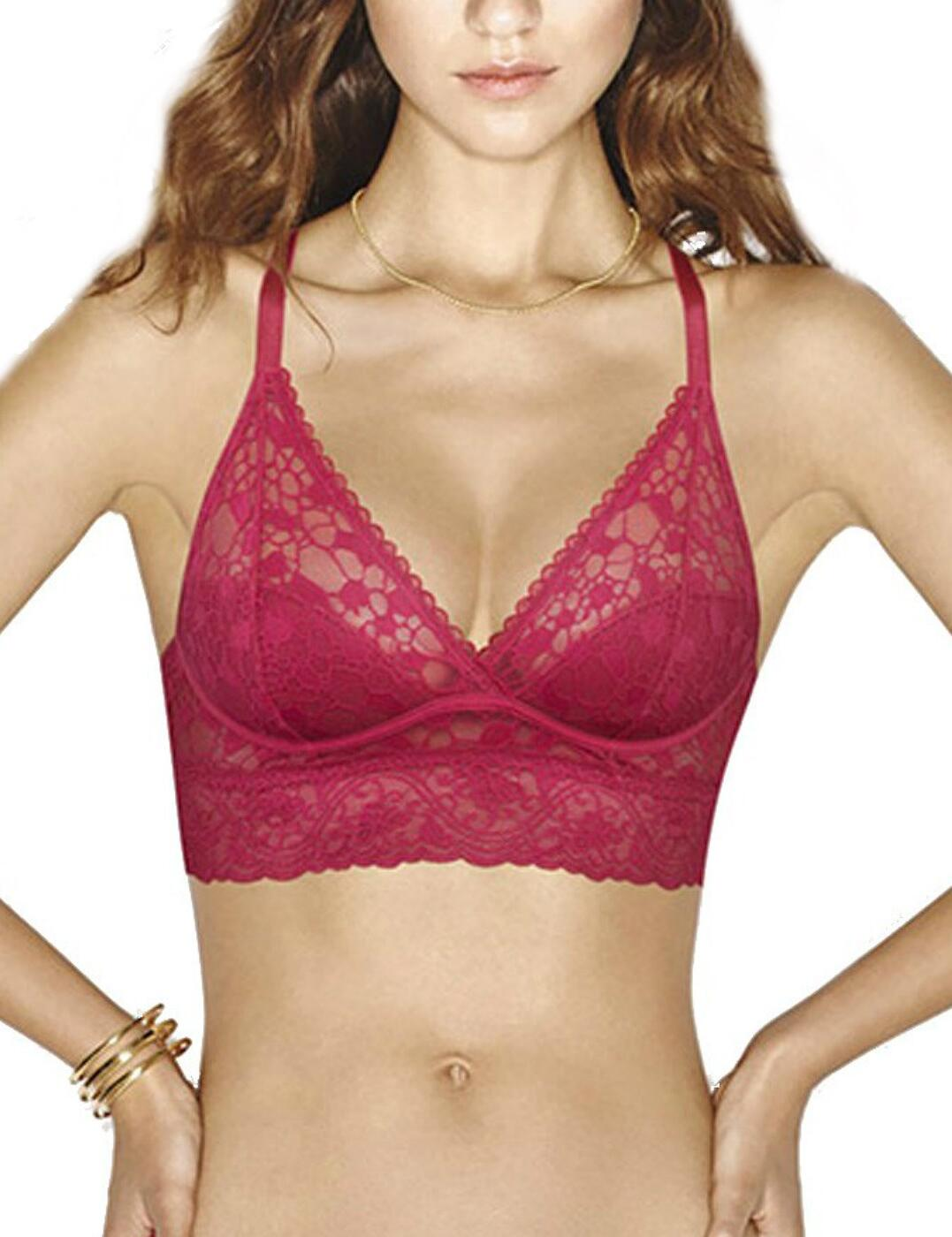 bbc0ebbd424d3 Wonderbra Sexy Bralette Triangle Push Up Bra W06TI Scarlett Red