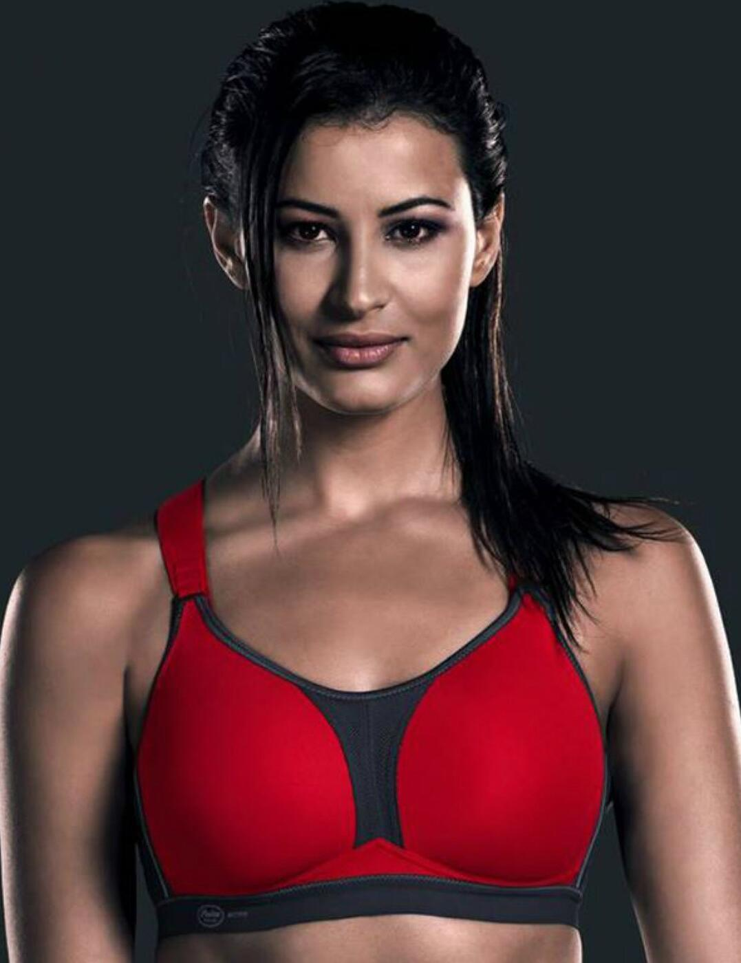 5537 Anita Active DynamiX Star Sports Bra X-back - 5537 Red