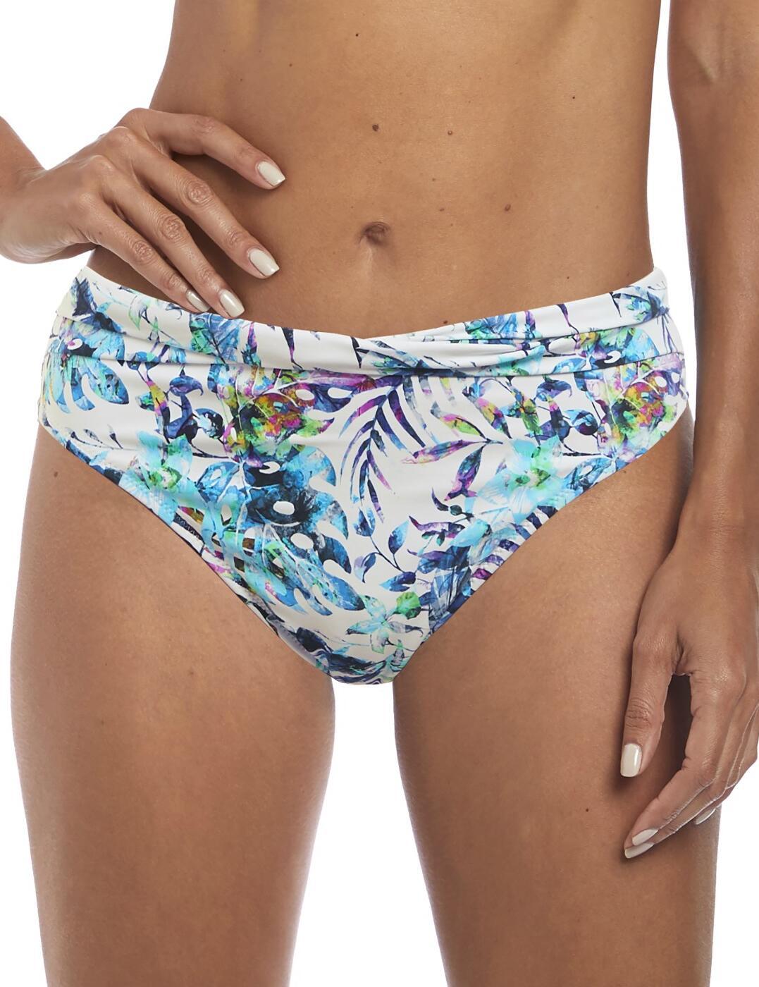 6543 Fantasie Fiji Classic Twist Bikini Brief  - 6543 Multi