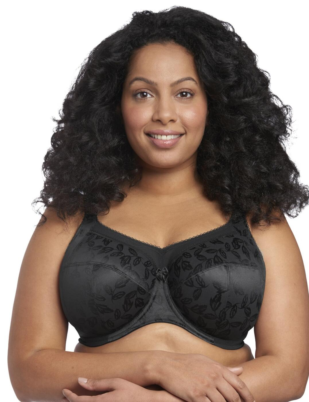 630a4519159 6651 Goddess Petra Underwired Full Cup Bra - GD6651 Black
