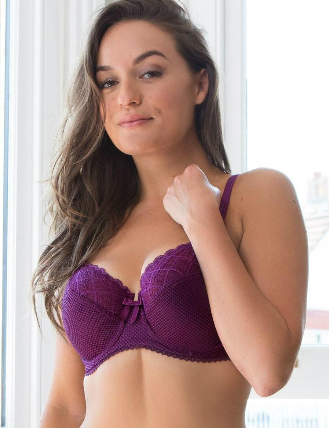 46002 Pour Moi Electra Side Support Bra - 46002 Mulberry