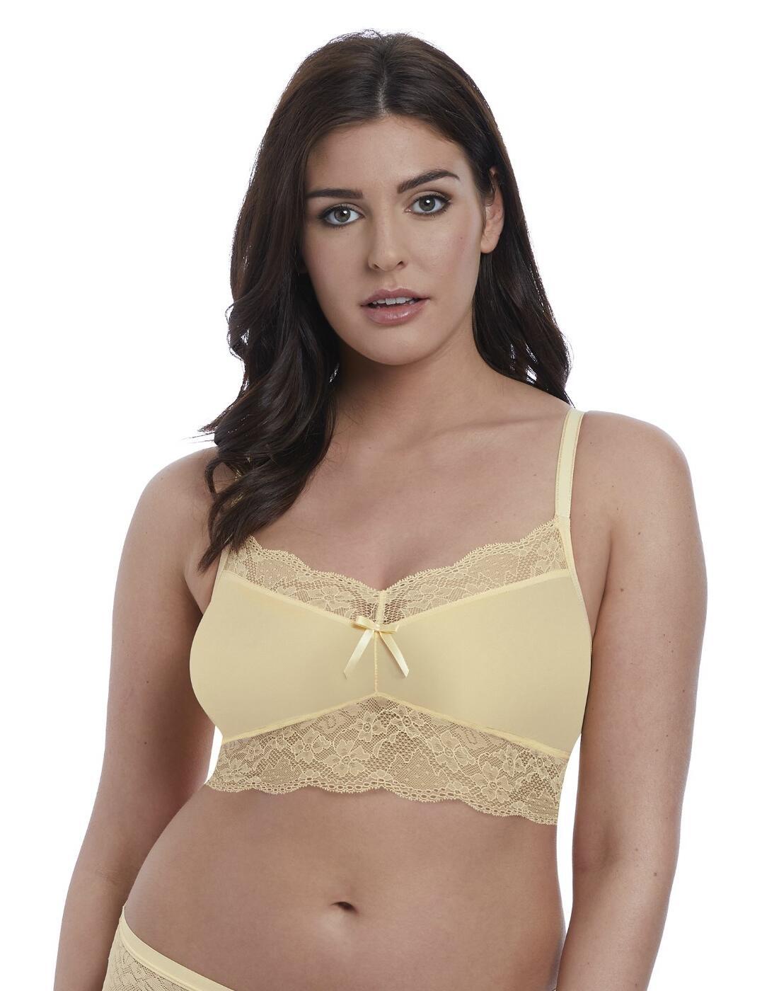1010 Freya Fancies Bralette Bra Top - 1010 Buttermilk