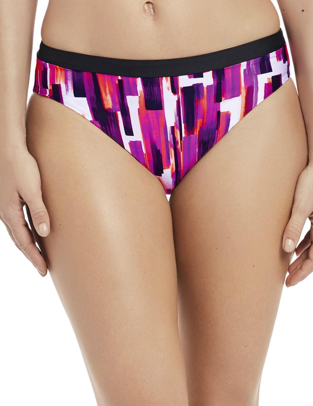 Fantasie Porto Mid Rise Bikini Brief Bottom Pant 6675 Twilight