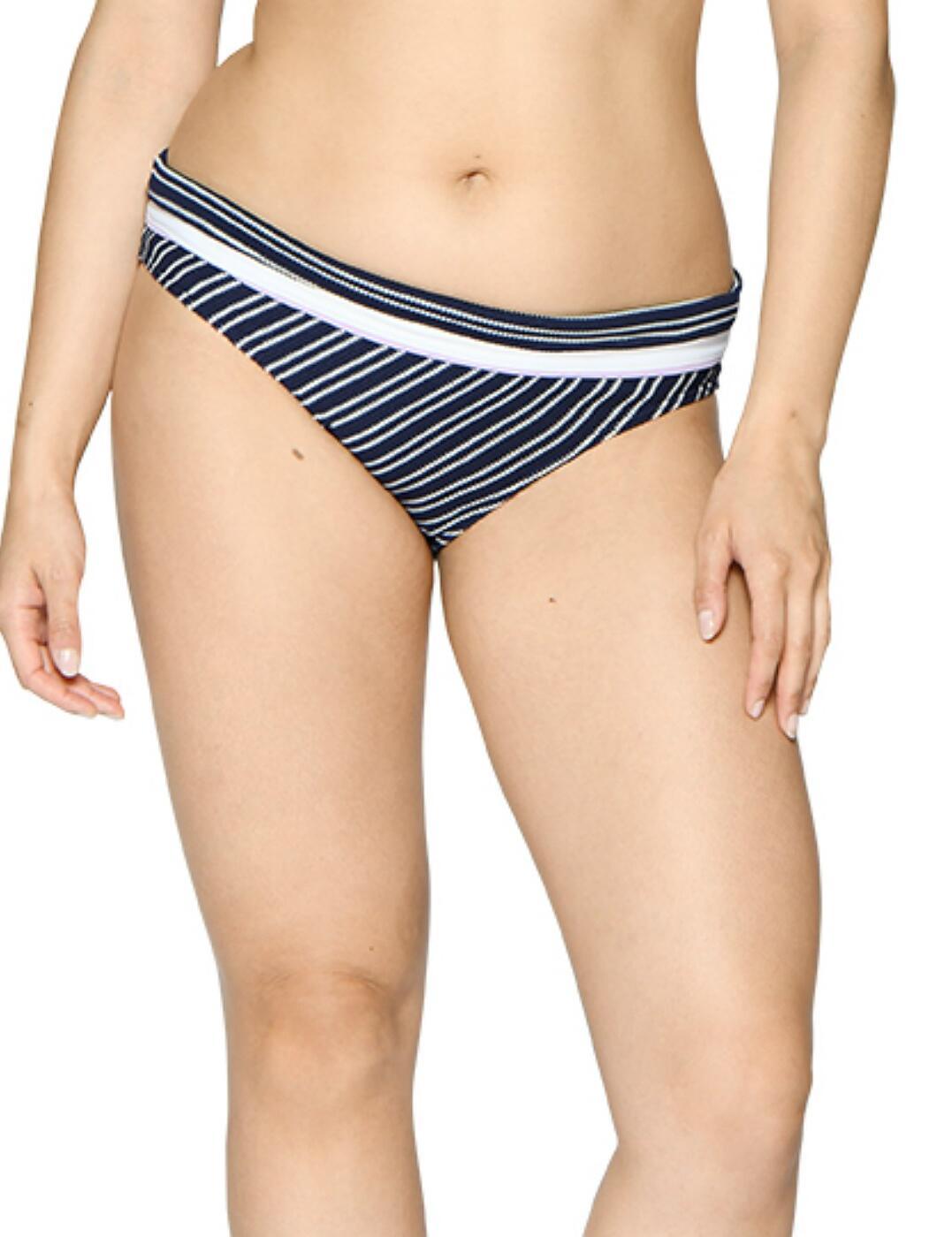 CS003503 Curvy Kate Sailor Girl Fold Bikini Brief - CS003503 Navy