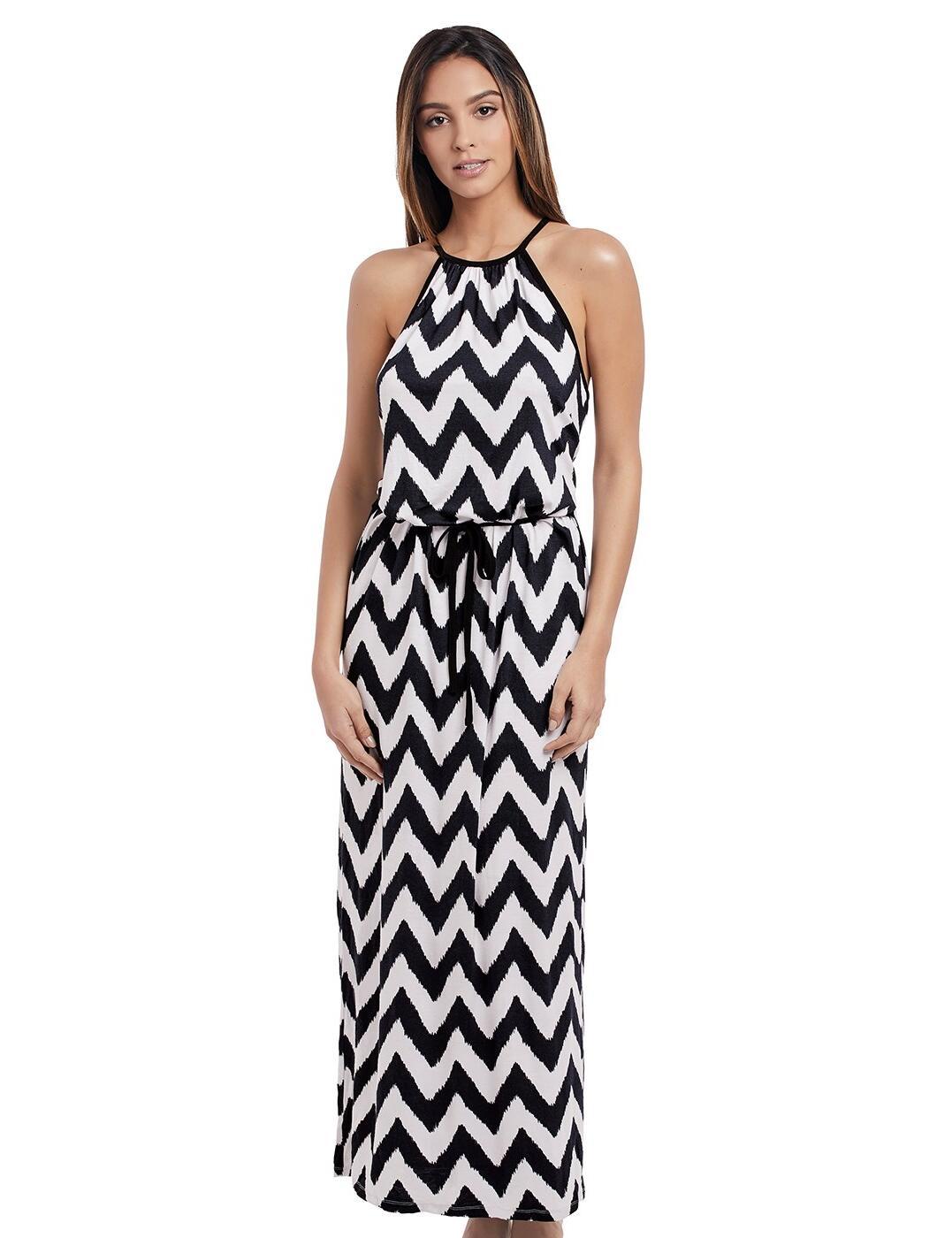 2946 Freya Making Waves Maxi Dress  - 2946 Black