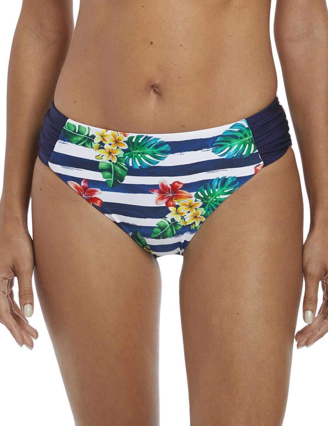 6675 Fantasie Porto Mid Rise Bikini Brief  - 6675 Twilight