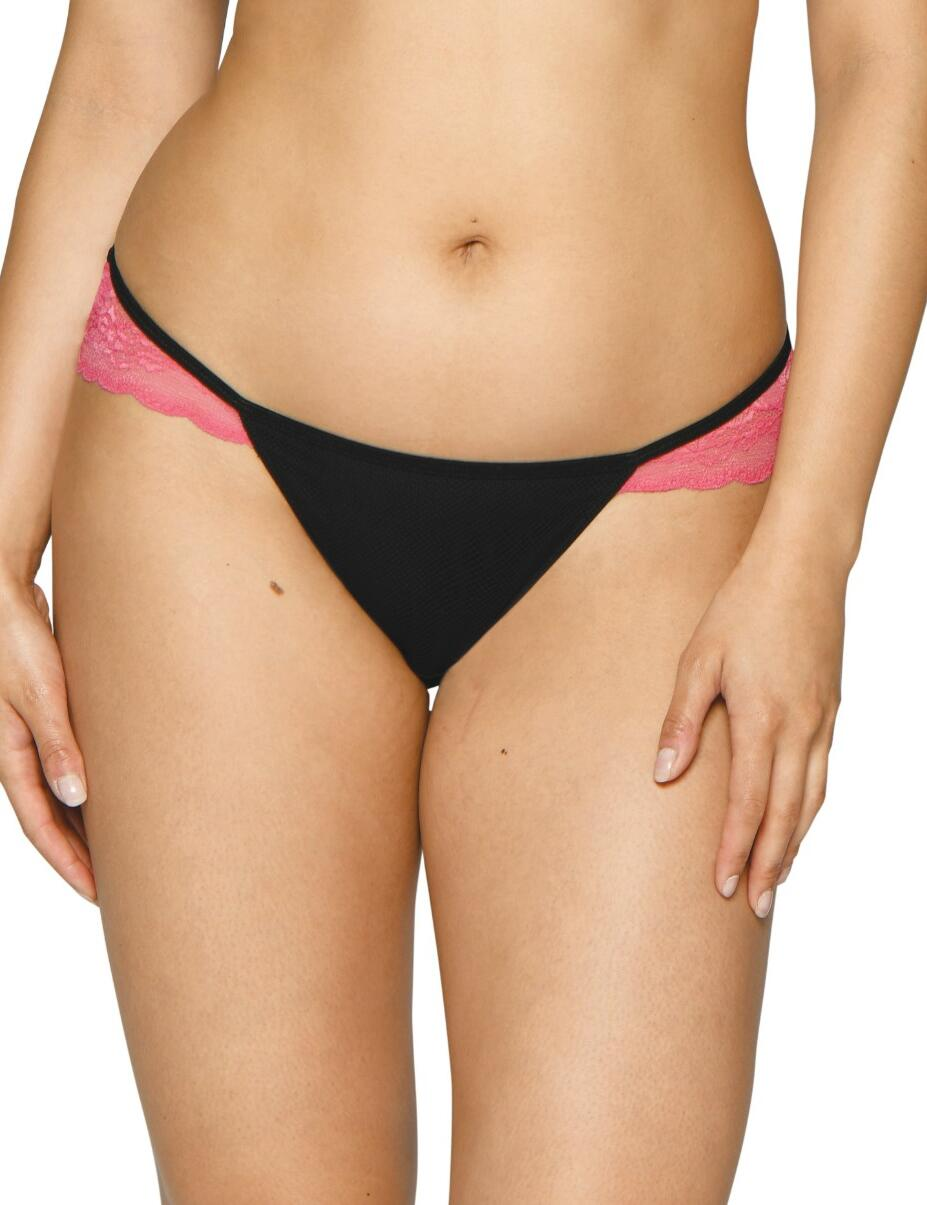 CK004202 Curvy Kate In Love With Lace Brazilian Brief - CK004202 Black/Pink