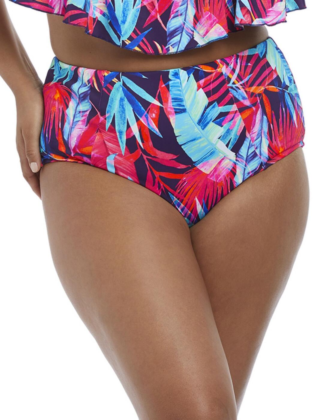 7145 Elomi Paradise Palm Classic Brief - 7145 Ink