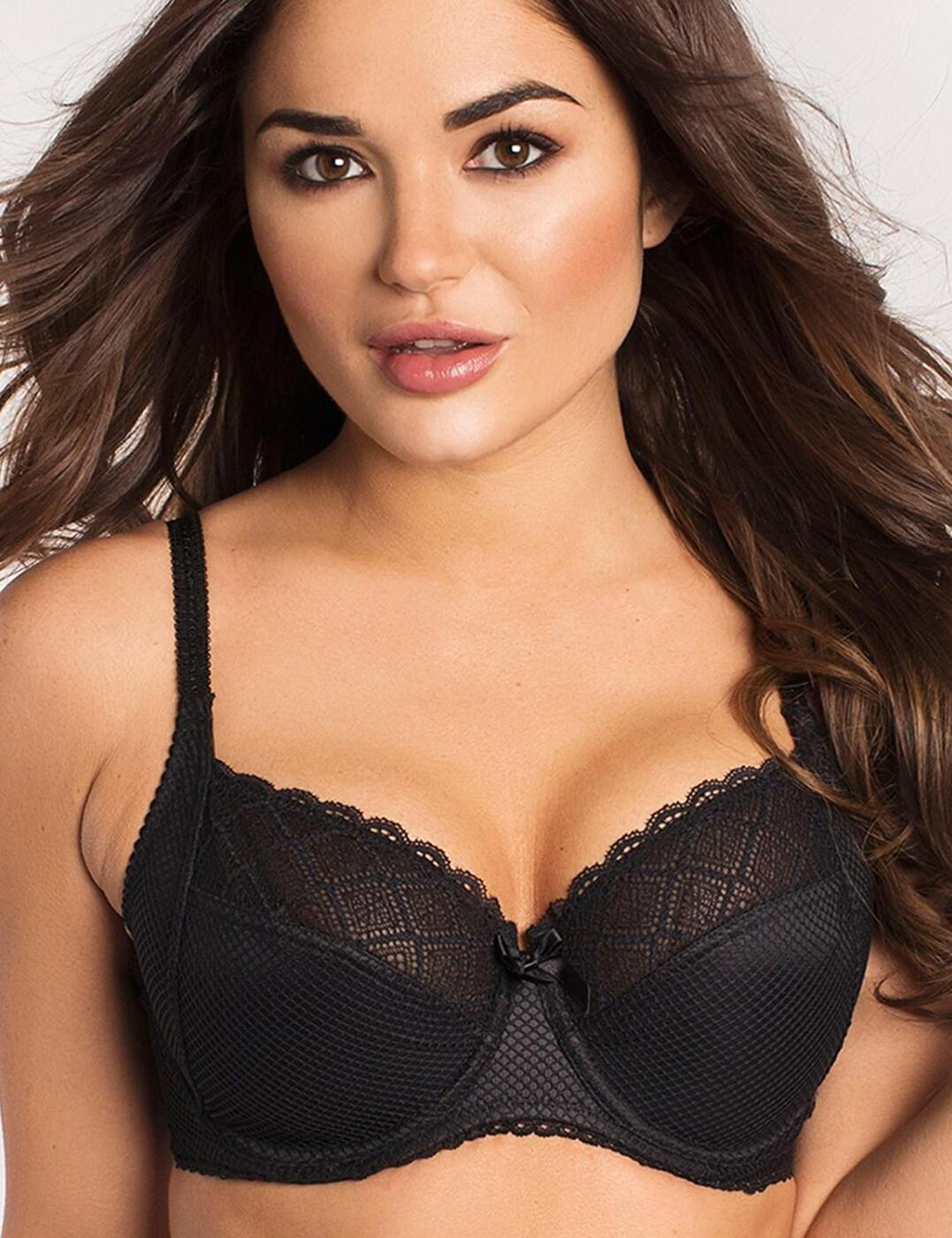46002 Pour Moi Electra Side Support Bra - 46002 Black